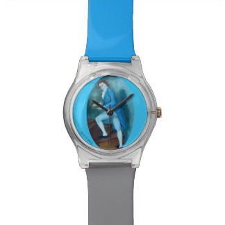 Man in Blue- Historical Watch