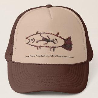 Man in Fish, Fish Image 2 Hat