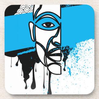 Man in Graffiti Coaster