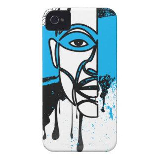 Man in Graffiti iPhone 4 Cover