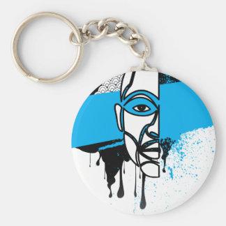 Man in Graffiti Key Chains