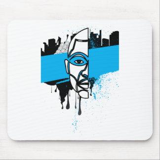 Man in Graffiti Mouse Pad