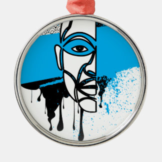 Man in Graffiti Ornaments