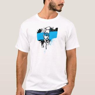 Man in Graffiti T-Shirt