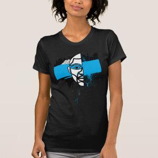 Man in Graffiti Tshirt