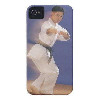 Man in karate stance Case-Mate iPhone 4 case