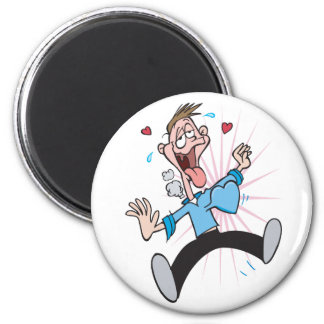 Man in Love Funny Valentines Gifts 6 Cm Round Magnet