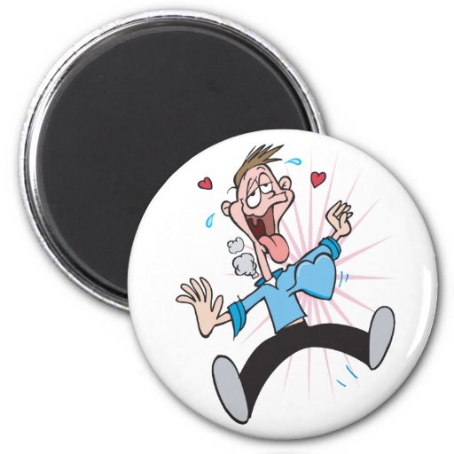 Man in Love Funny Valentines Gifts Magnets