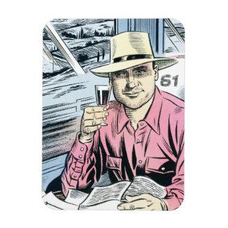 Man in Seat 61 fridge magnet... Rectangular Photo Magnet