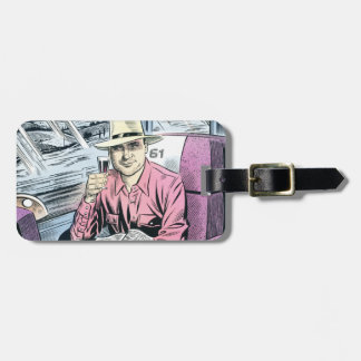 Man in Seat 61 personalised luggage tag