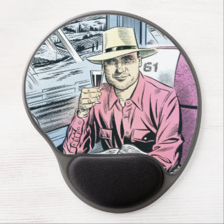 Man in seat 61 shaped mousemat