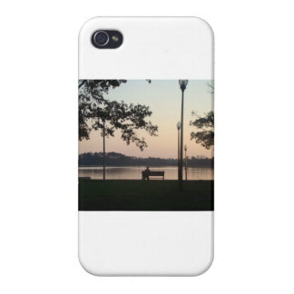 Man in Silence and Beauty iPhone 4/4S Cases