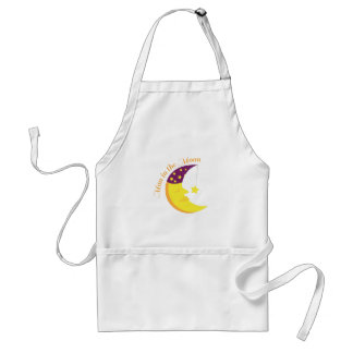 Man In the Moon Aprons