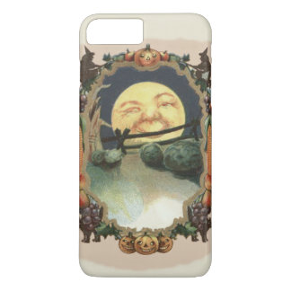 Man In The Moon Witch Black Cat Jack O Lantern iPhone 7 Plus Case