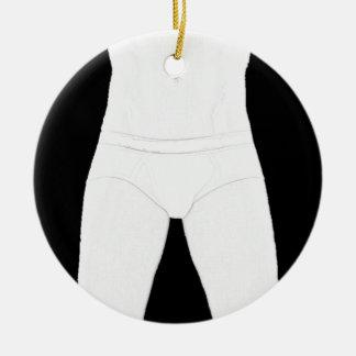 Man in Underwear Ornament