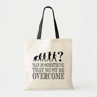 Man Is Something That Must Be Overcome (Nietzsche) Tote Bag