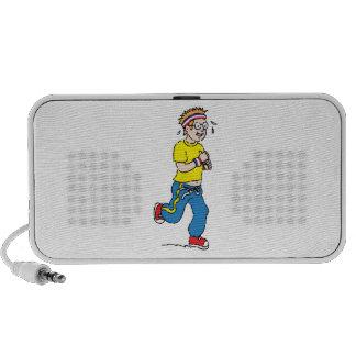Man Jogging Portable Speaker