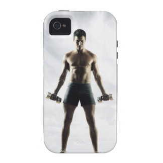 Man lifting weights 3 iPhone 4 covers