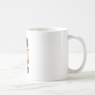 Man-like monkey coffee mug