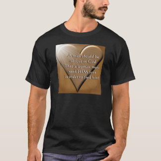 Man Lost In God T-Shirt