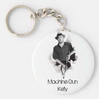 Man & Machine - Machine Gun Kelly Basic Round Button Key Ring