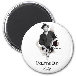 Man & Machine - Machine Gun Kelly Refrigerator Magnets