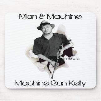 Man Machine - Machine Gun Kelly Mouse Pads