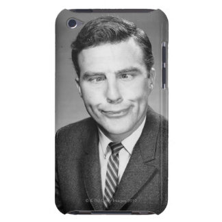 Man Making Face Barely There iPod Cover