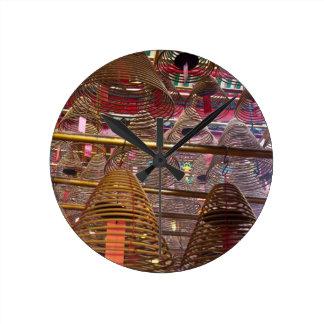 Man Mo Buddhist Temple of Hong Kong Clocks