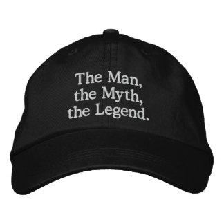 Man, Myth, Legend Hat Embroidered Cap