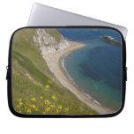 Man o War Bay, Jurassic Coast, Lulworth, Dorset, Laptop Sleeve