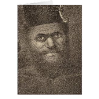 Man of New Caledonia Card