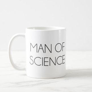 Man Of Science Coffee Mug