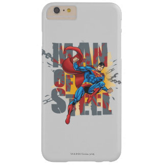 Man of Steel Barely There iPhone 6 Plus Case
