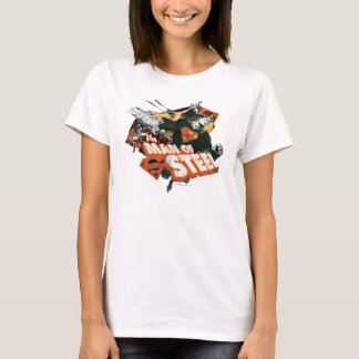 Man of Steel Collage T-Shirt