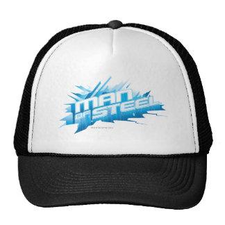 Man of Steel - Ice Mesh Hats