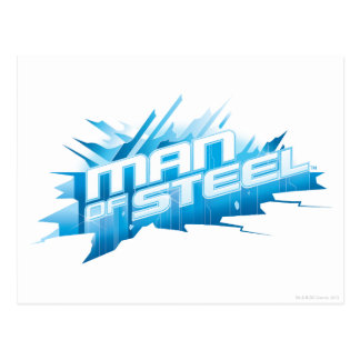 Man of Steel - Ice Postcard