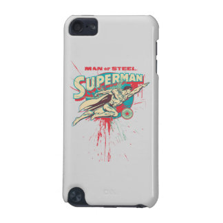 Man of Steel paint splatter iPod Touch 5G Covers