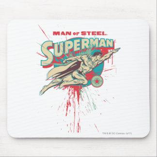 Man of Steel paint splatter Mouse Mat