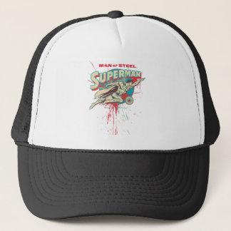 Man of Steel paint splatter Trucker Hat