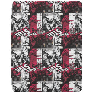 Man of Steel Red Pattern iPad Cover