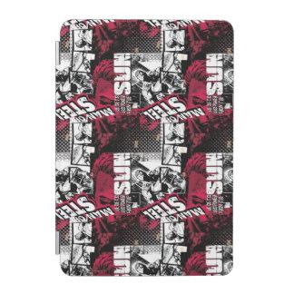 Man of Steel Red Pattern iPad Mini Cover