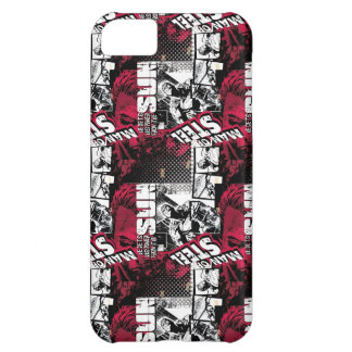 Man of Steel Red Pattern iPhone 5C Case