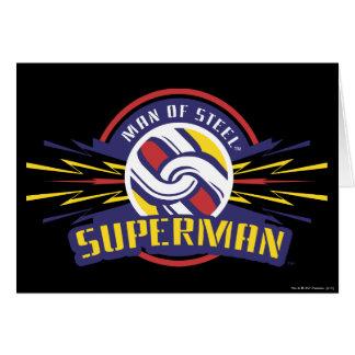 Man of Steel - Superman Greeting Card