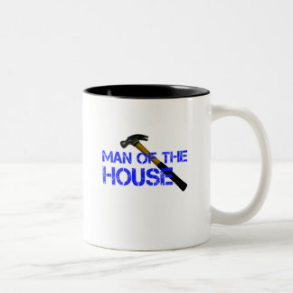Man of the house Two-Tone coffee mug