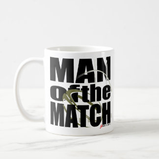 Man of the Match Classic White Coffee Mug