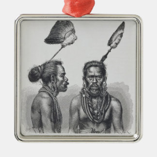 Man of the Ruk Islands Christmas Ornament