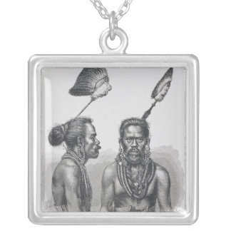 Man of the Ruk Islands Silver Plated Necklace