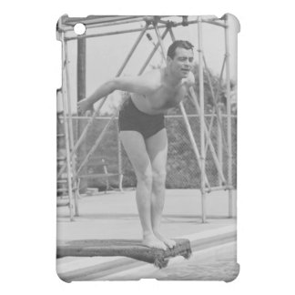 Man on Diving Board iPad Mini Cover