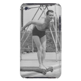 Man on Diving Board iPod Case-Mate Case